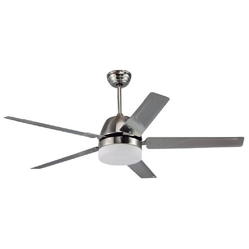 "Ventilador Hurricane 52"" Metal Tishman TLCF9100S - Tishman Lighting"