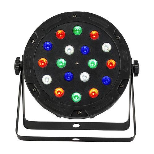 PAR LED 18x5w DMX RGBW 185MPR