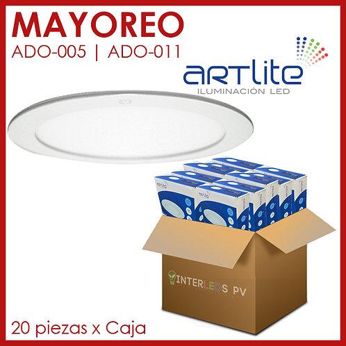 MAYOREO Panel LED 18W Redondo Slim - Artlite