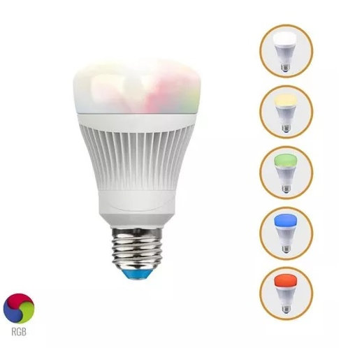Foco SMART LED A19 Evolizion WiFi 11DA19LEDRGBWVB