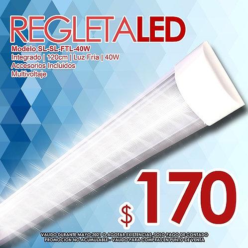 Regleta LED Doble HP-LB-40DL Promo