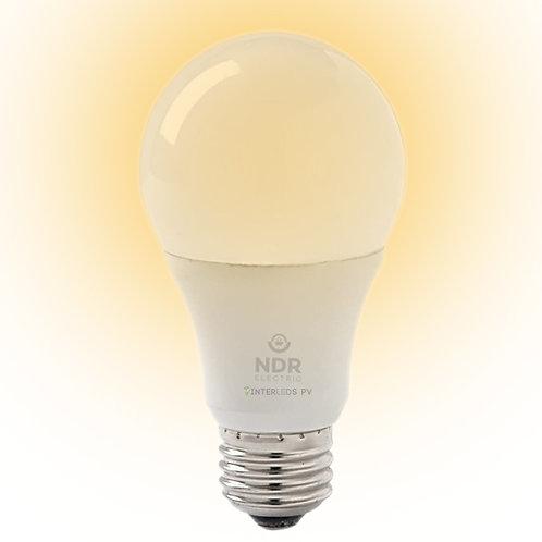 Foco LED Dimeable 9.5w 27K 800LM ND-LED-A19-9.5W-27K
