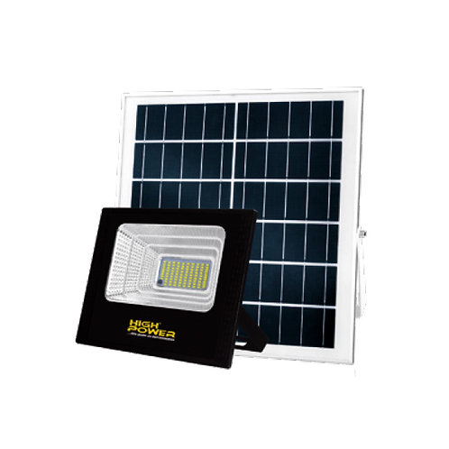 SOLAR Reflector LED+Panel Solar 100w HIGRS-1001