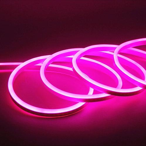 NEON FLEX Rosa Tira LED 5mts 12v MAN-NEO5MTPK