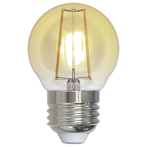 ALA-023 LAMPARA LED FILAMENTO G45 E26 2W LUZ AMBAR 1800K