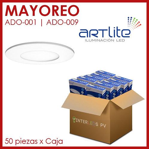 MAYOREO Panel LED 3W Redondo Slim - Artlite