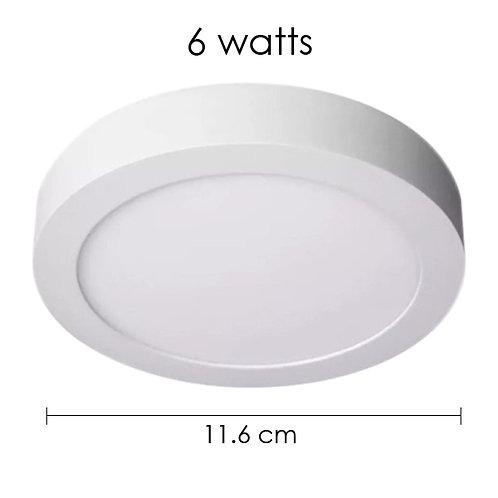 Panel LED 6W Sobreponer Blanco Cálido ADO-016