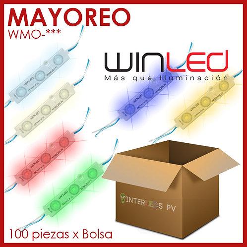 MAYOREO Modulo 3-LED SMD2835 0.72W Exterior WMO- - WinLed