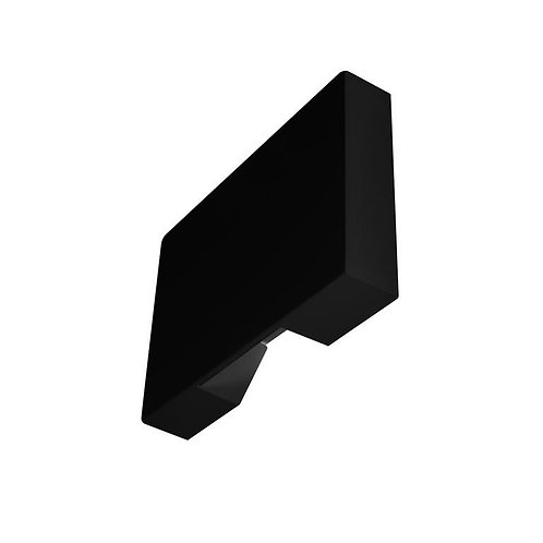Lum. Pared Negro/BcoCalido 1w 067-ILU2810PC1WB