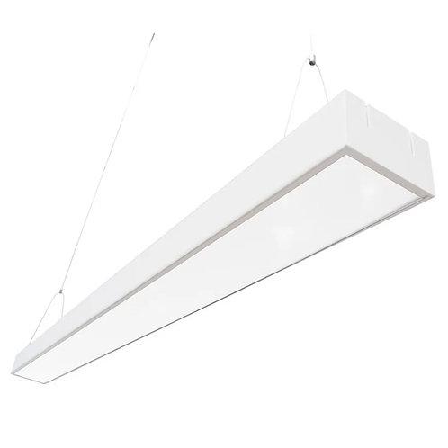 Lampara Office LED Colgante 120x10x5  AG-BG-CFZ-36W-BCO