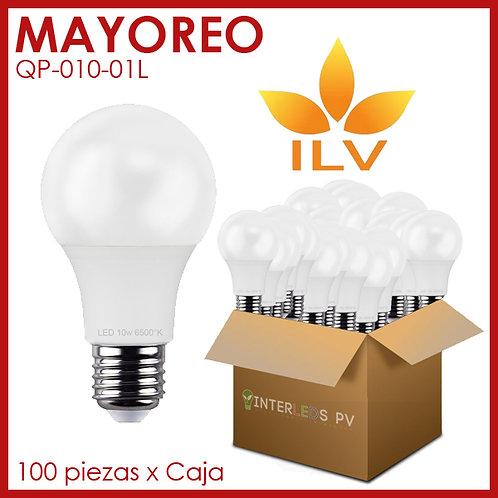 MAYOREO - Foco 10w 6500k 127v E27 ILV-001 -QP-010-01L - ILV