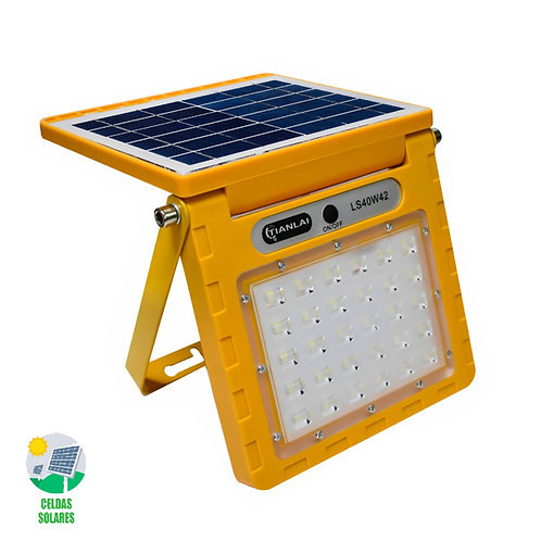 SOLAR Reflector Amarillo 40w Luz Blanca LS40W42
