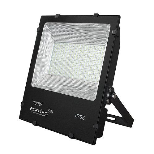 ARE-017 REFLECTOR LED SMD CUADRADO SLIM 200W BLANCO FRIO