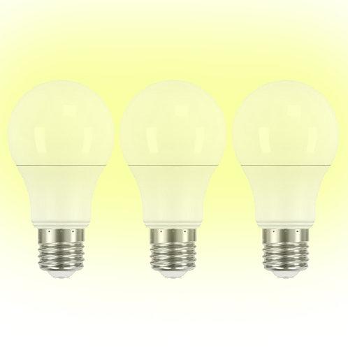 3Pack A19 LED 8.5w 3000K A19-LED/010/30-3