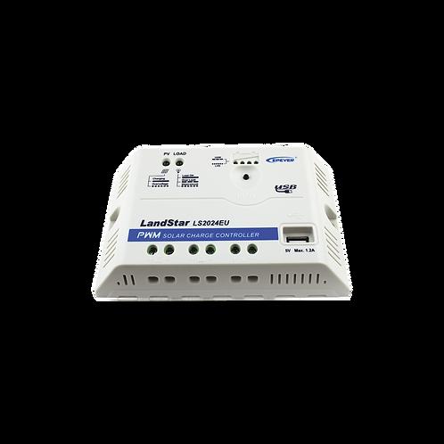 Controlador Epsolar PWM 12/24v 20A C/USB LS2024EU