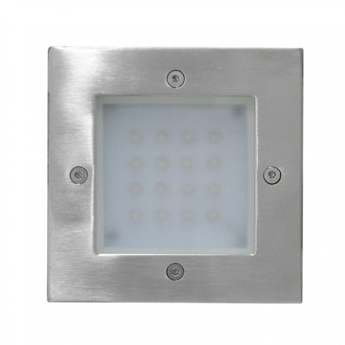 CA-3620-LED Empotrado a Muro 16x0.1w LED Inox