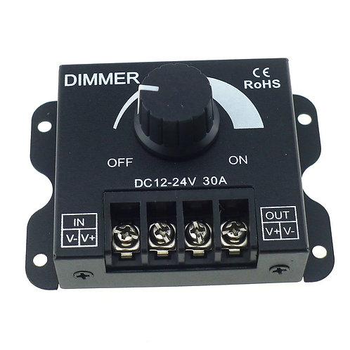 Dimmer Negro Perilla 12V-24V 30A DC 360w VG913057
