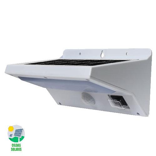 SOLAR Arbotante Blanco C/Sensor de Movimento 9022