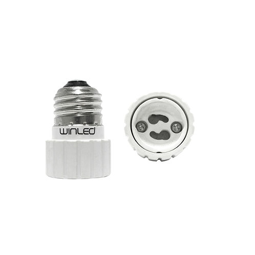 WAD-002 ADAPTADOR DE BASE E26 A LAMPARA GU10