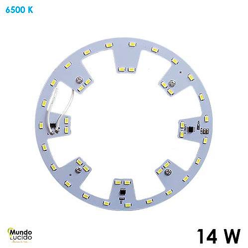 Modulo de Repuesto LED 14w 127v 170mm 930lm RP14