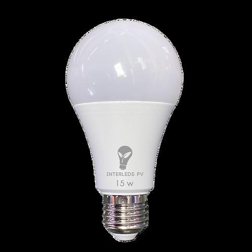 Foco 15w LED 6500K 127v E27 QP-015-01L ILV-005