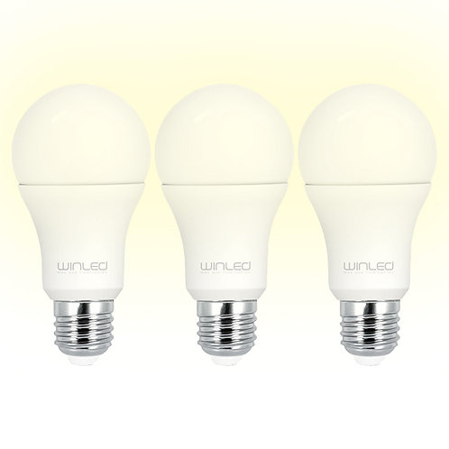 3Pack Focos 10W BC Winled WLA-015
