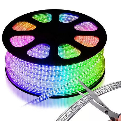 Manguera LED 25 MTS 127v RGB JLML-5050RGB