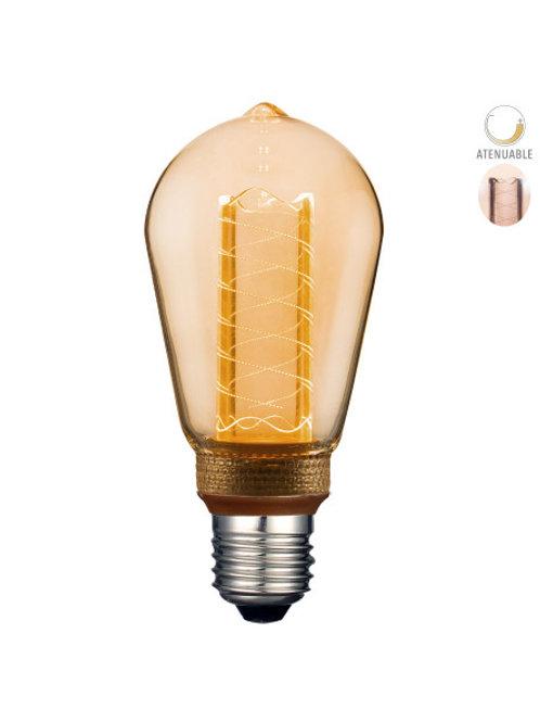 Foco LED ST64 3w 3DST64LEDFT20VA