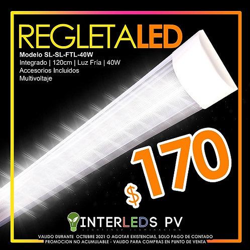 Regleta LED Doble HP-LB-40DL