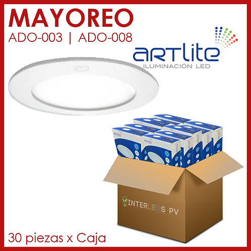 MAYOREO Panel LED 12W Redondo Slim - Artlite
