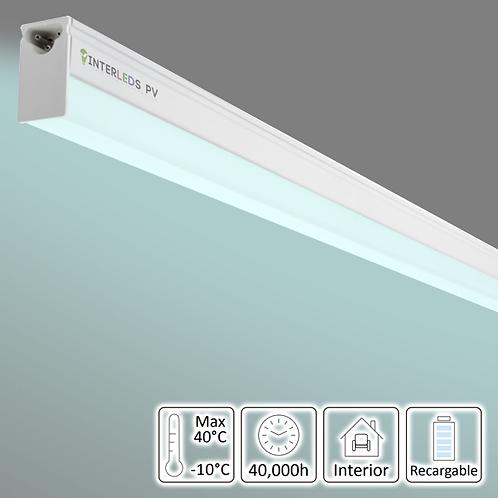 ATU-009 Tubo LED T5 Integrado C/Batería de Respaldo 120CM 20W Blanco Frío