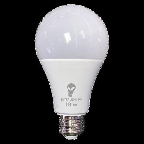 Foco 18w LED 6500K 127v E27 QP-018-01L ILV-006
