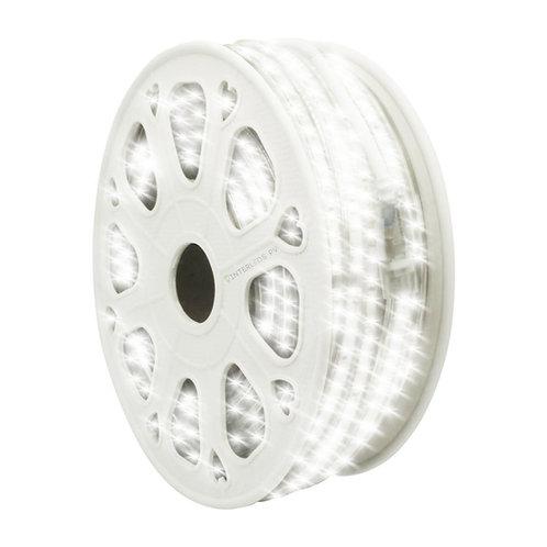 WMA-014 MANGUERA LED DOBLE 2835 ROLLO 25M BLANCO FRIO EXTERIOR