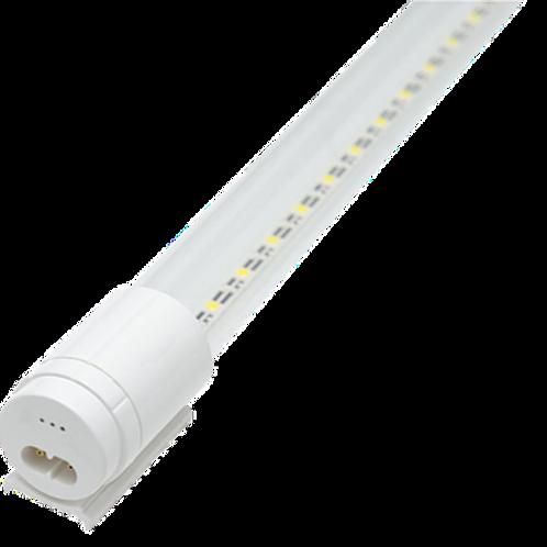 WTU-005 Tubo LED de Cristal C/Base Plástica 120cm 18W C/Accesorios Blanco Frío