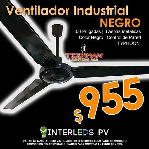 Ventilador Industrial color Negro - Thypoon TLCF1020B