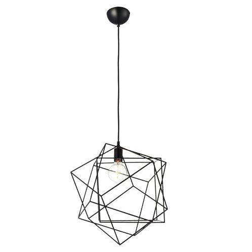 Lamp Techo Suspendido E27 Negro - C082/NE - CALUX