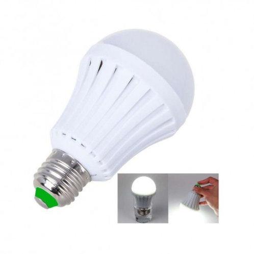 Foco LED Emergencia Recargable E26 12w HP-HIGLE-12