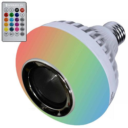 Foco Bocina 12w RGB + BL-018
