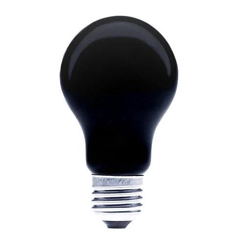 Foco incandescente A19 Luz Negra UV 75w LM-A19BLB75