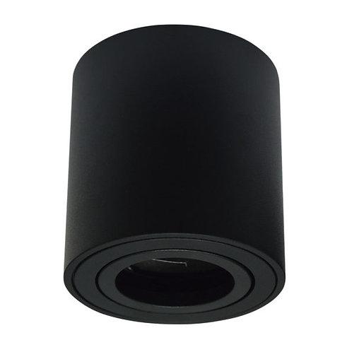 Lum Techo Cilindro Alu Negro para GU10 ADE-702