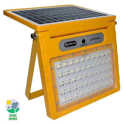 SOLAR Reflector Amarillo 60w Luz Blanca LS60W43