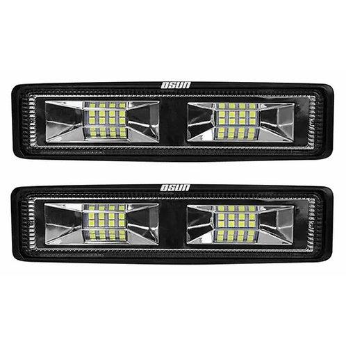 Par Faros LED Tipo Barra C/Estrobo OSN0136