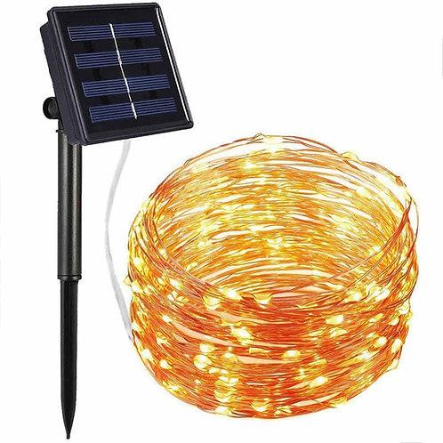 Serie Luz Solar Alambre de Cobre  100L 10M - ( 091 )