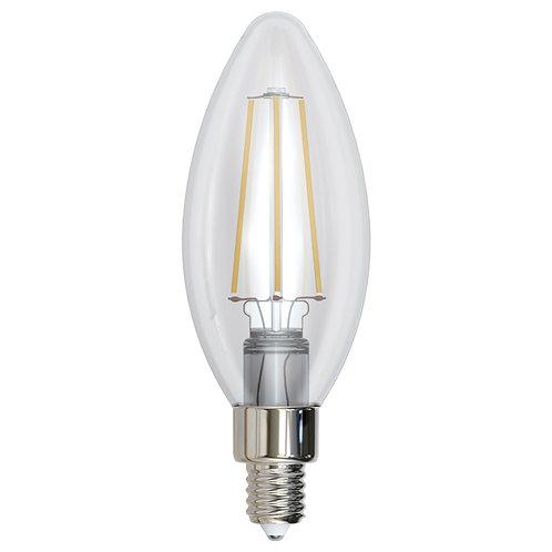 ALA-005 LAMPARA LED FILAMENTO VELA E12 4W BLANCO CALIDO 2700K