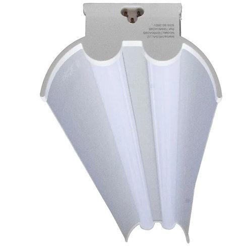 Regleta Doble LED 120cm C/Difusor y Acc 60w T8W60A08B