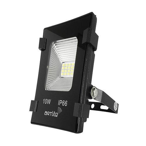 ARE-002 REFLECTOR LED SMD CUADRADO SLIM 10W BLANCO CALIDO