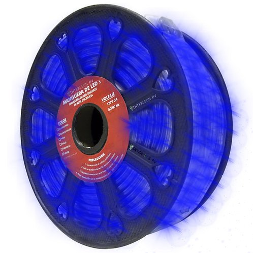 Manguera LED 2835 Rollo 25 metros AZUL Exterior WMA-008