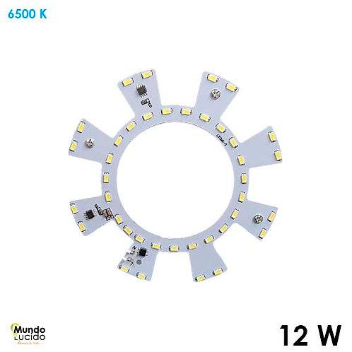 Modulo de Repuesto LED 12w 127v 144mm 750lm RP12