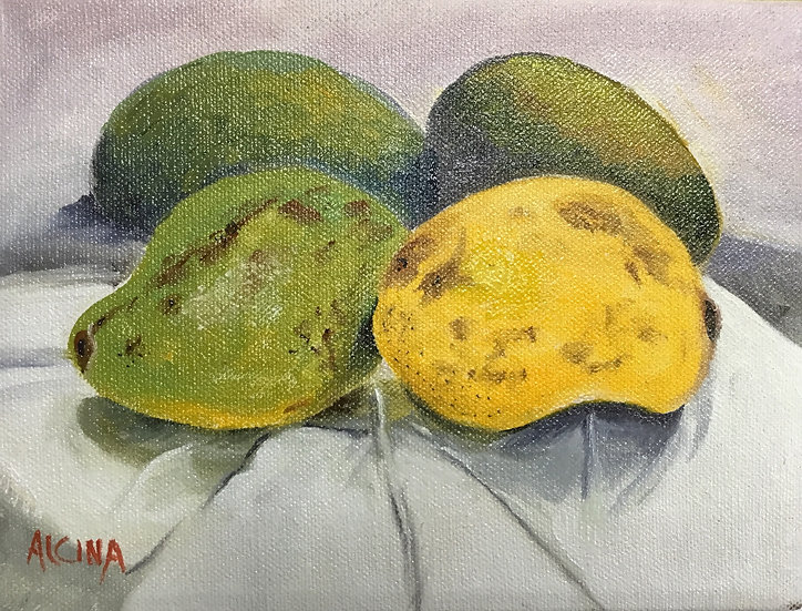 Mangoes In A Mirror
