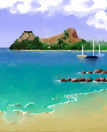 View of Pidgeon Island